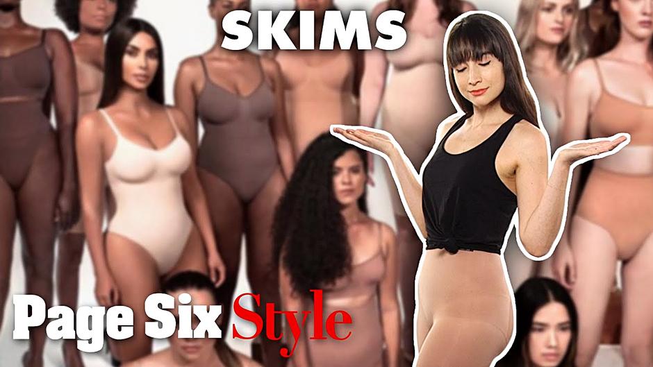 We tried Kim Kardashian's SKIMS shapewear