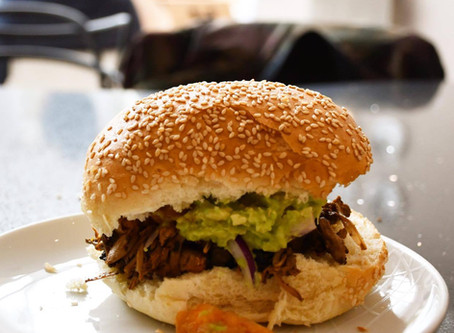 Pulled Jackfruit Burger - A Recipe for Father's Day