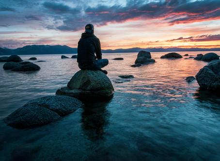 Mindfulness for Men... Panel Member Volker Ballueder shares his wisdom on meditation.