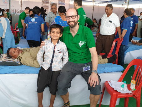 Our Panel Expert Toby Colliver shares his experience of a Chiropractic Mission Trip to India.