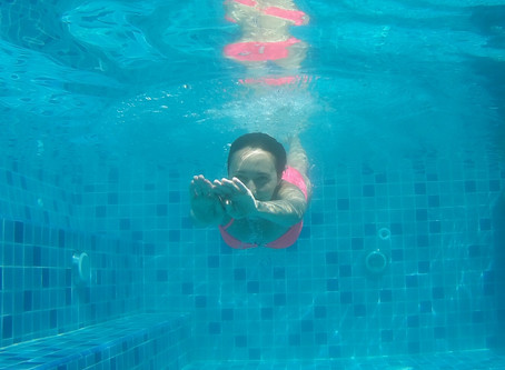Swim yourself happy!  Panel Expert Sally Dunford talks about swimming using the Shaw Method.