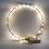 Thumbnail: Mini LED-Lichterkette m. Draht/Timer 130cm, 20 LED's, Batteriebetrieb, lichtgelb