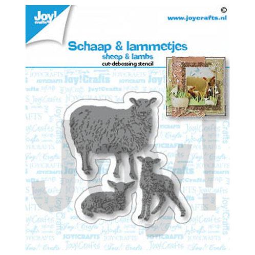Joy!Crafts   Stanzschablone Schafe und Lämmer