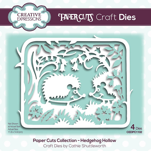 Creative Expressions Paper Cuts Stanzschablone Hedgehog Hollow