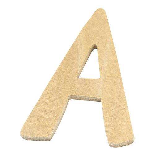Holz Buchstaben, 6 cm