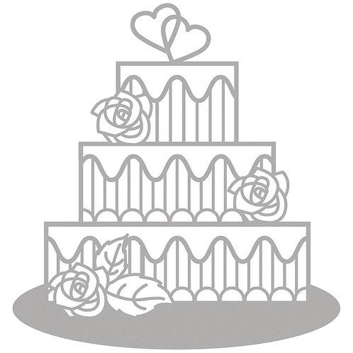 Delicate Die- Tiered Cake 11,1x11,6cm, SB-Etui 1Stück