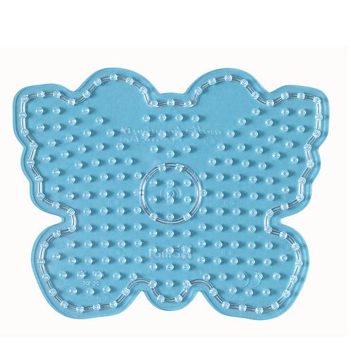 Maxi Stiftplatte transparent -  Schmetterling (213 Stifte) 15x19cm
