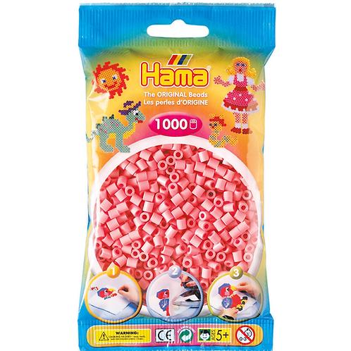 Midi Perlen 5mm in Beutel, 1000 Perlen pink