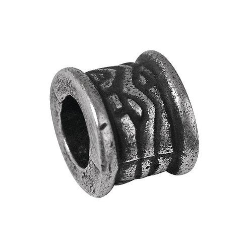 Metall Radl, 8mm ø Grossloch 4mm ø, lose, altsilber