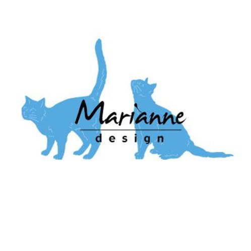 Marianne Design Creatables Stanzschablone Tinys Katzen