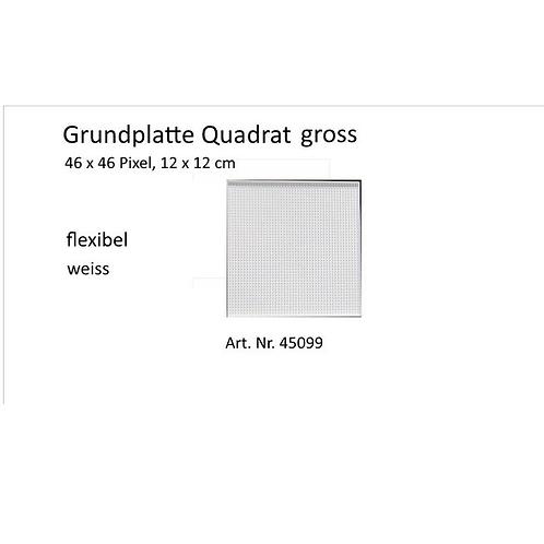 Basisplatte Quadrat gross   46x46 Pixel / 12x12cm