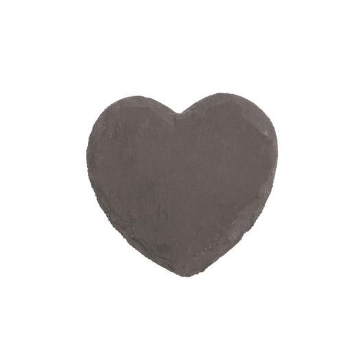 Schieferstein Herz 10x10x0.5cm