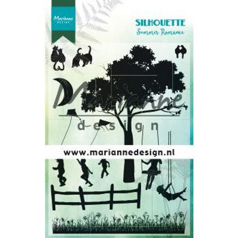 Marianne Design Silikonstempel Sommerromanze