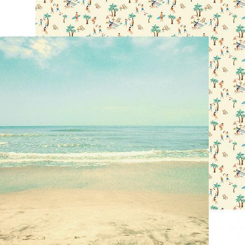Kaisercraft paper 30,5x30,5cm Summer splash sunkissed