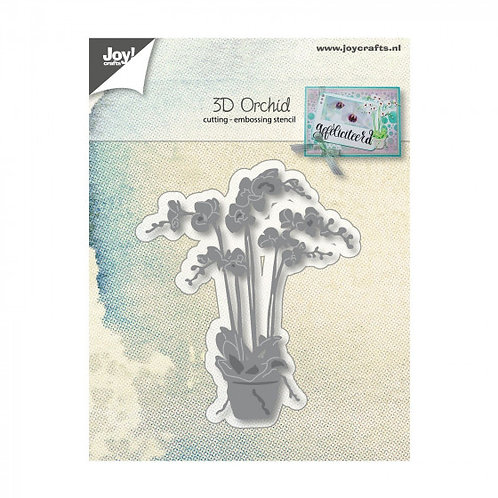 Joy Stanzschablone Orchidee 3D