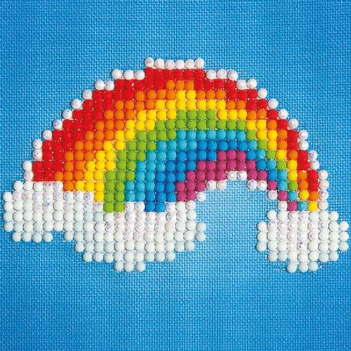 DIAMOND DOTZ Ever Living Rainbow 10.2x10.2cm