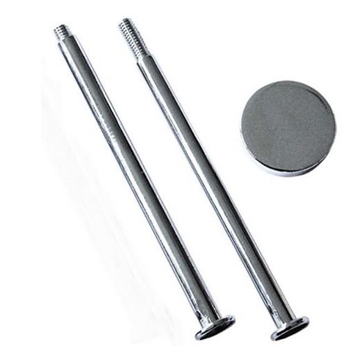 Etagère 2-teilig Bastelset Platte (3cm) silber
