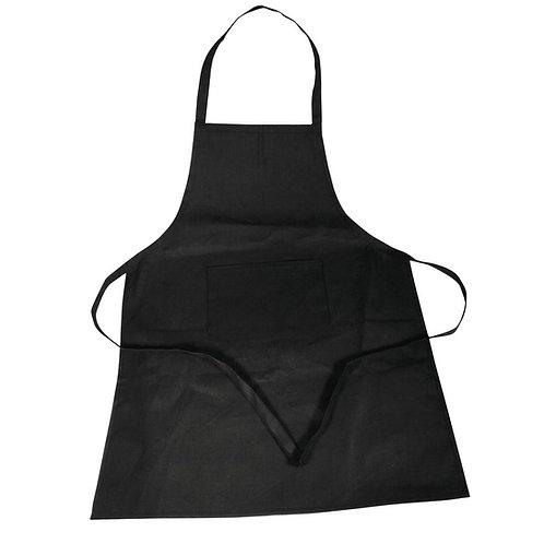 Baumwoll- Schürze 70x95cm, SB-Btl 1Stück, schwarz