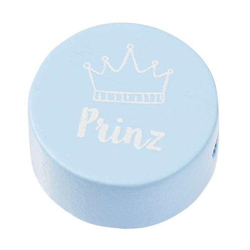 Schnulli Scheibe Prinz 2St hellblau