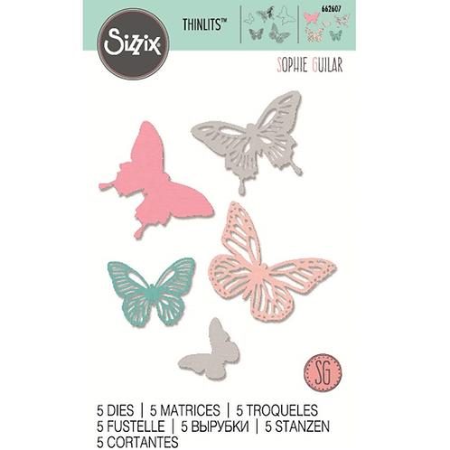 Sizzix Thinlits Schmetterlinge