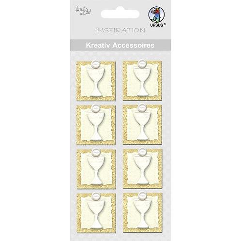 "Kreativ Accessoires ""Kelch"" gold - Motiv 142"