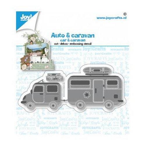 Joy!Crafts  Stanzschablone Wohnwagen