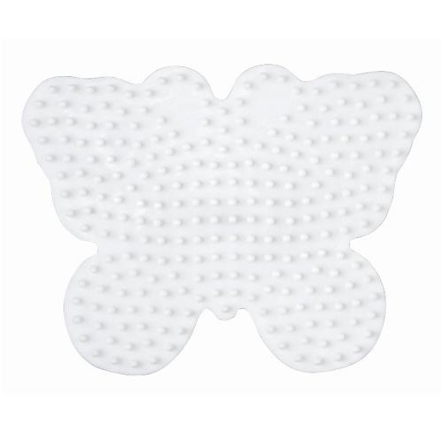 Midi Stiftplatte weiss - Schmetterling (254Stifte) 10.5x8cm
