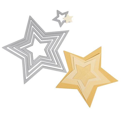 Sizzix Framelits Set Sterne
