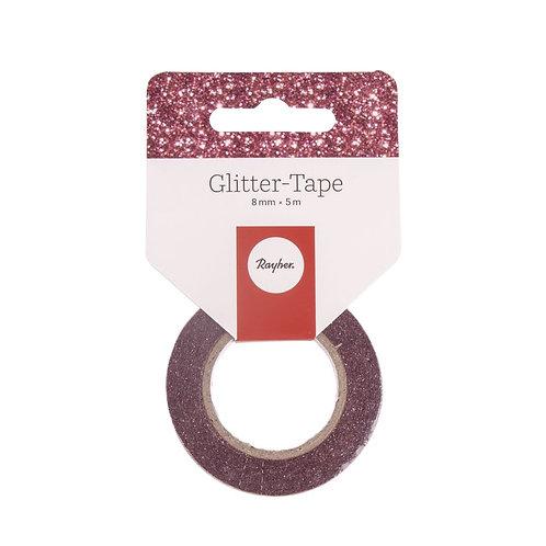 Glitter Tape, 8mm, Rolle 5m