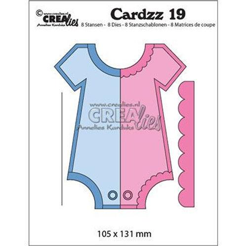 Crealies  Cardzz Stanzschablone no.19 Strampler