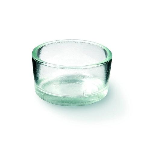 Glas für Rechaudkerzen H2.5cm