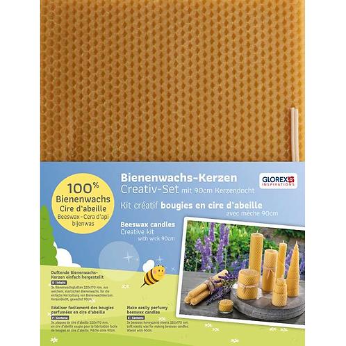 Bienenwachswaben 3 Stk. 220x170mm mit Docht