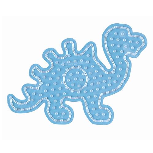 Maxi Stiftplatte transparent - Dinosaurier  (174 Stifte) 15.5x22cm