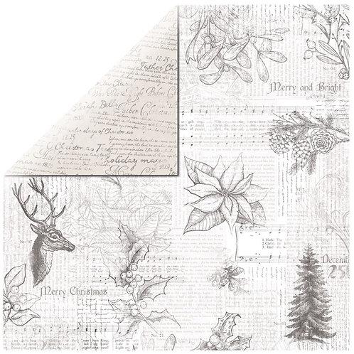 Scrapbookingpapier Jovial 30,5x30,5cm, 150g/m2