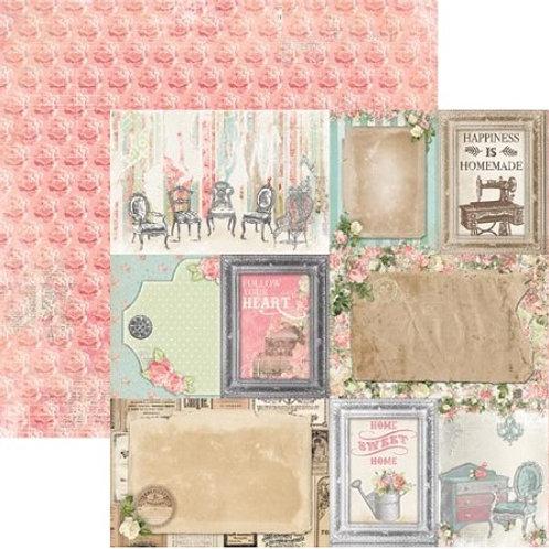 "Bo Bunny - Soiree Collection - Splendid 12""x12"" cardstock"