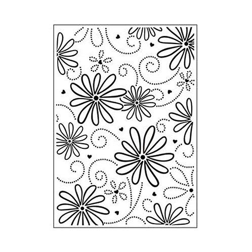 Darice Prägeschablone Blütenblatt