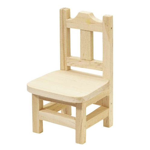 Holzstuhl 5.5x5.5x9cm