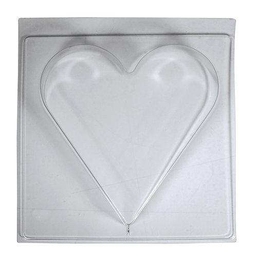 Giessform Herz 25x27cm, Tiefe 4cm
