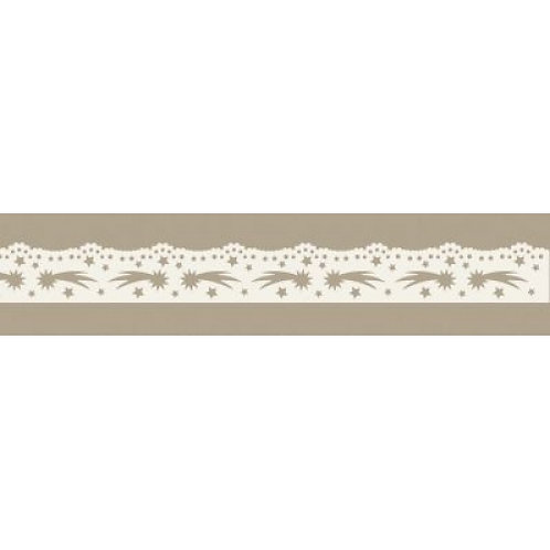 Spitzenband Bethlehem Stern, aus Papier, selbstklebend, 16.8mmx200cm