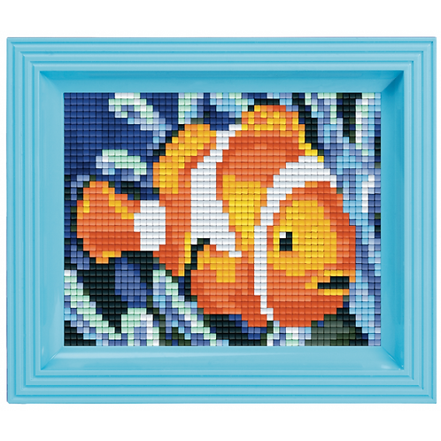 Pixelbild Set Nemo - mit Rahmen
