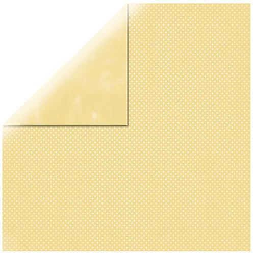 Scrapbookingpapier Double Dot 30.5x30.5cm, 190g/m2