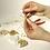 Thumbnail: Drahtstern für Perlen, 15/10cm ø, Drahtstärke 0,7mm, SB-Btl 3Stück