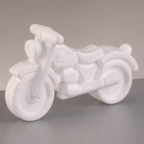 Styroporform, Motorrad, 11 x 17 cm
