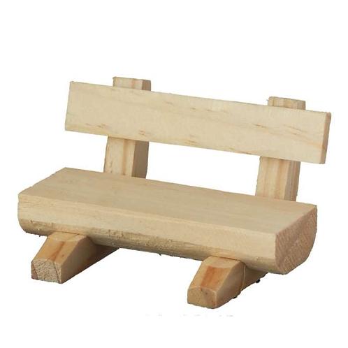 Bank Holz geschnitzt 7x4cm