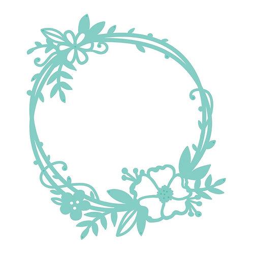 Kaisercraft Stanzschablone floraler Rahmen