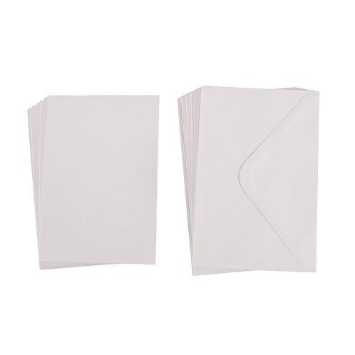 Kartenset B6, FSC Mix Credit, 15 Karten + 15 Kuverts, Box 30Stück