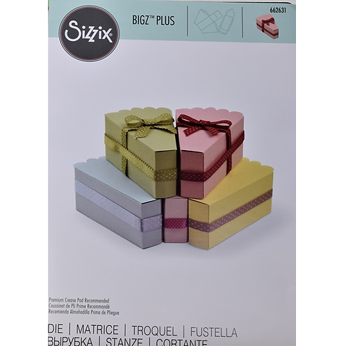 Sizzix Bigz Plus Box Tortenstück