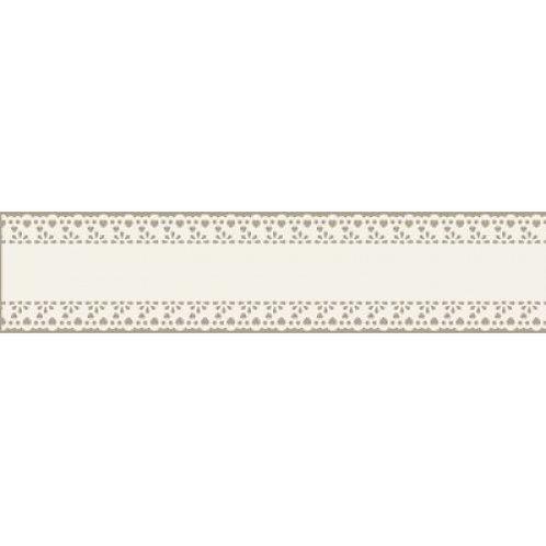Spitzenband Bordüre, aus Papier, selbstklebend, 34mmx200cm