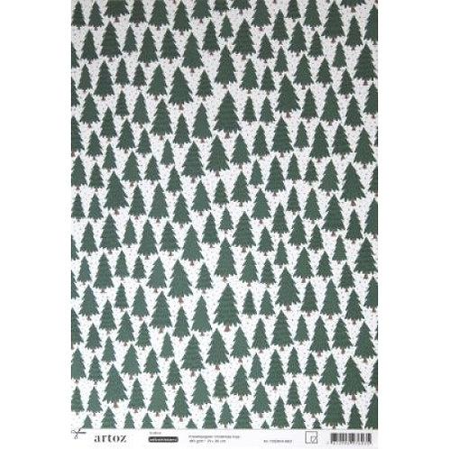 Artoz Papier selbstklebend, Tannenbaum, A4+ 180gm2