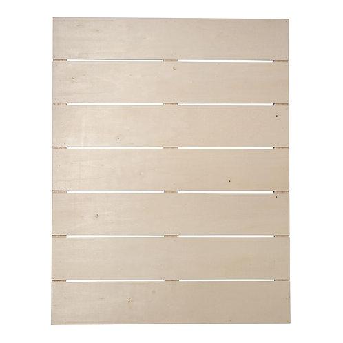 Holz Lattenrahmen, FSC Mix Credit 40x50,2x0,7cm, Tiefe 1,1cm,+2 Haken